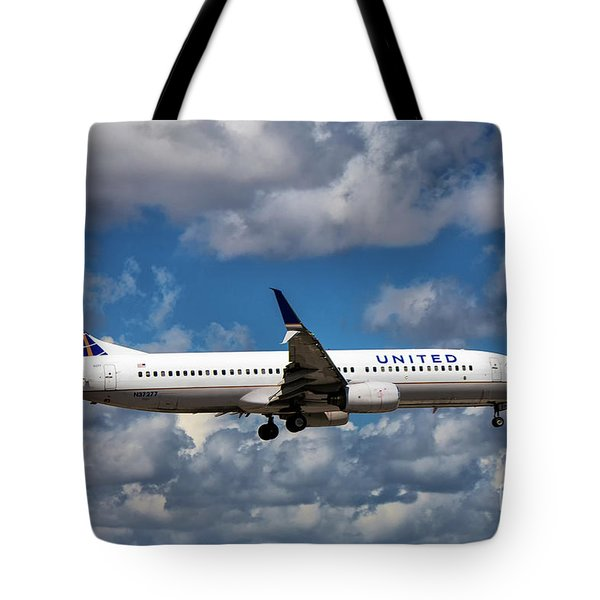 United Airlines Boeing 737 Ng Tote Bag