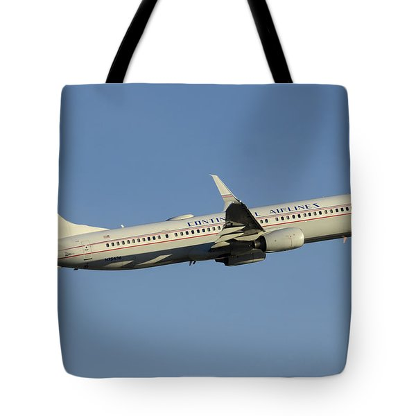 United Boeing 737-924 N75436 Retro Continental Phoenix Sky Harbor December 9 2015 Tote Bag