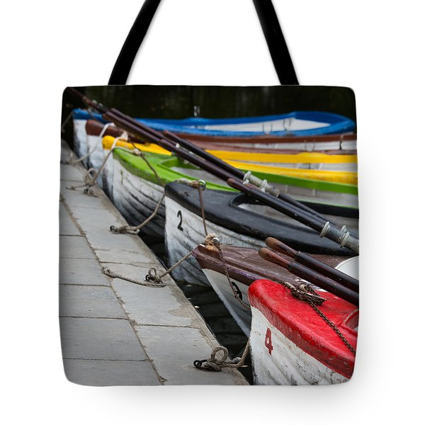 United Colors Of Boats Tote Bag by Edgar Laureano
