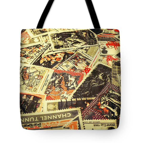United Kingdom Proof Of Post Tote Bag