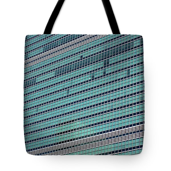 Tote Bag featuring the photograph United Nations 2 by Randall Weidner