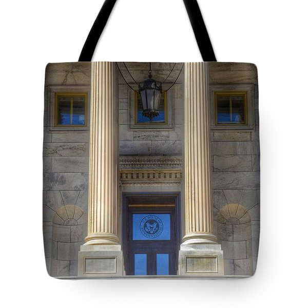 United States Capitol - House Of Representatives  Tote Bag