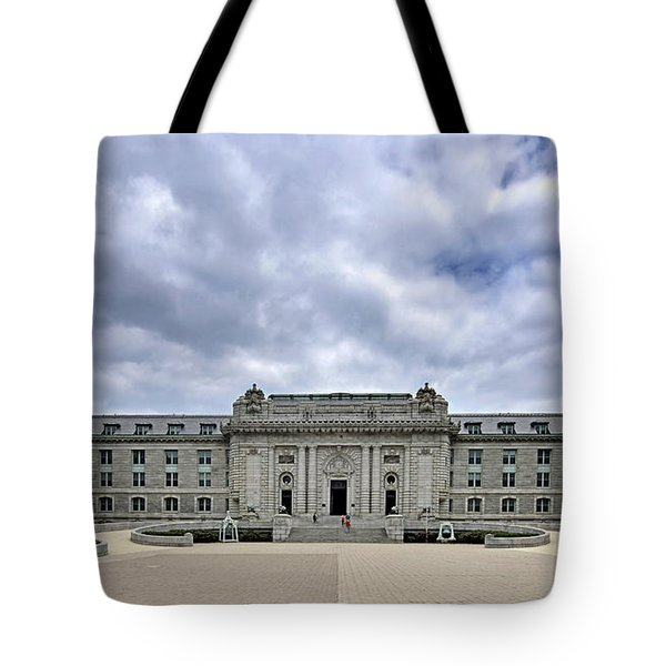 United States Naval Academy - Bancroft Hall Tote Bag