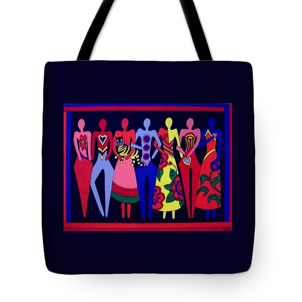 Unity 1 Tote Bag by Stephanie Moore