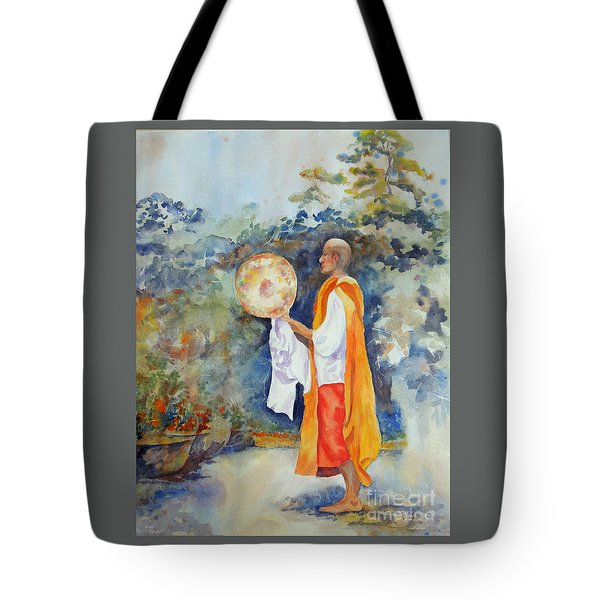 Tote Bag featuring the painting Unity by Mary Haley-Rocks