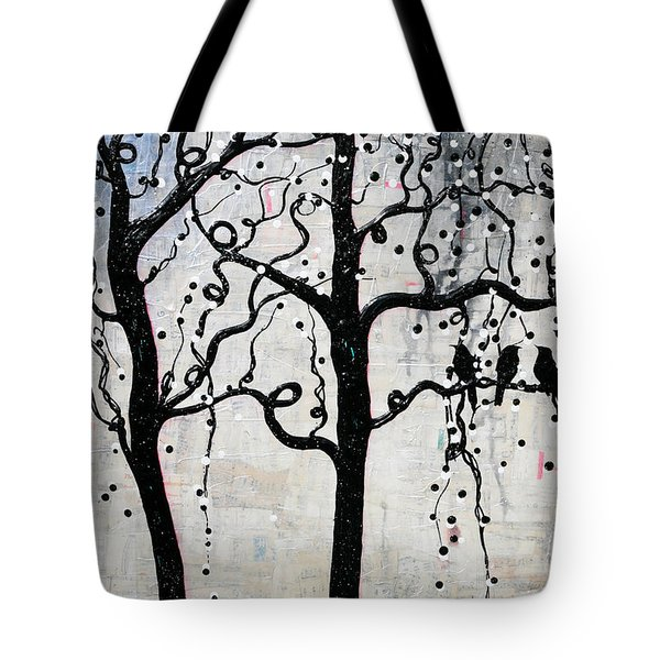 Tote Bag featuring the mixed media Unity by Natalie Briney