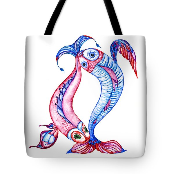 Unity Of Opposites. Perfect Couple Tote Bag