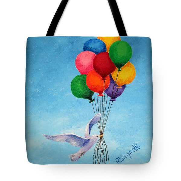Unity Tote Bag by Pamela Allegretto
