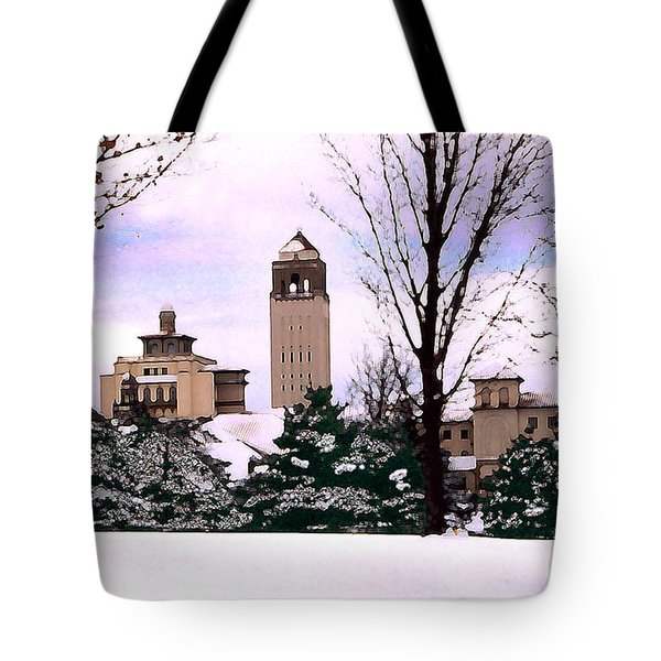 Tote Bag featuring the photograph Unity Village by Steve Karol
