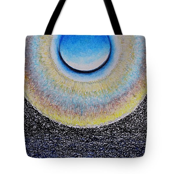 Universal Eye In Blue Tote Bag