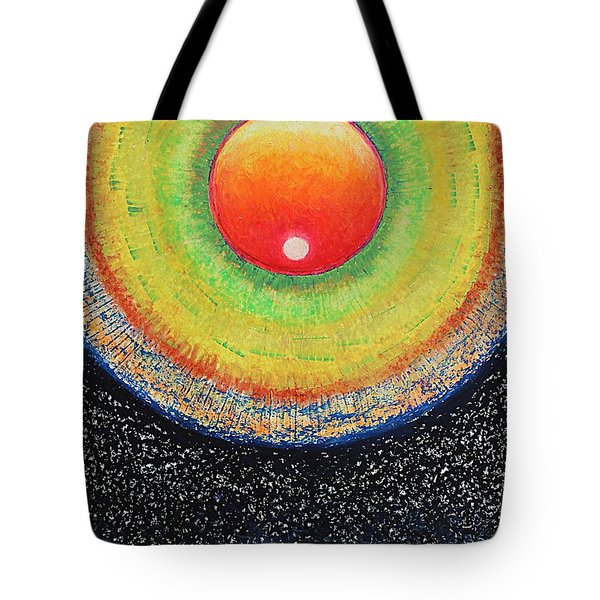 Universal Eye In Red Tote Bag
