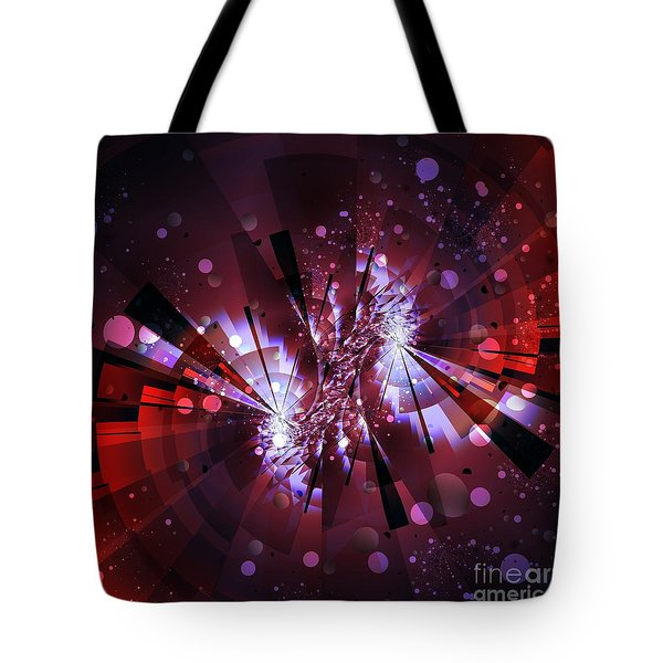 Tote Bag featuring the digital art Universal by Michelle H