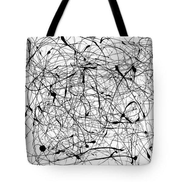 Universal Painting Tote Bag by Ismael Cavazos