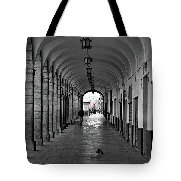 Tote Bag featuring the photograph Universal Sign by David Chandler