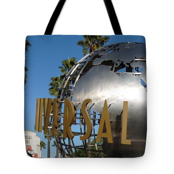 Universal Studios Globe Tote Bag by Jeff Lowe