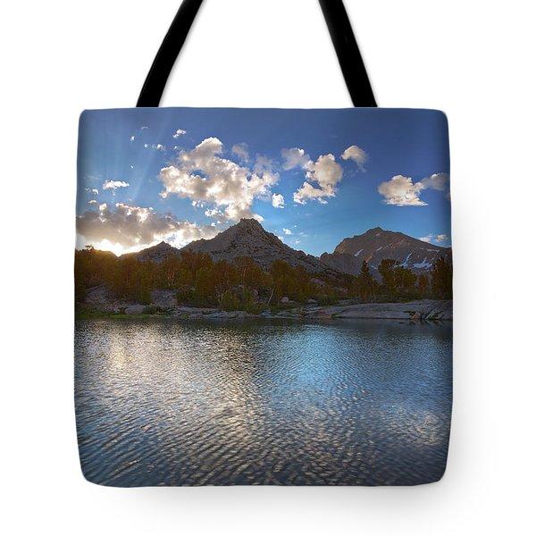 Universe Rising Tote Bag