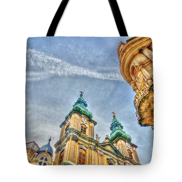 University Church In Budapest Tote Bag