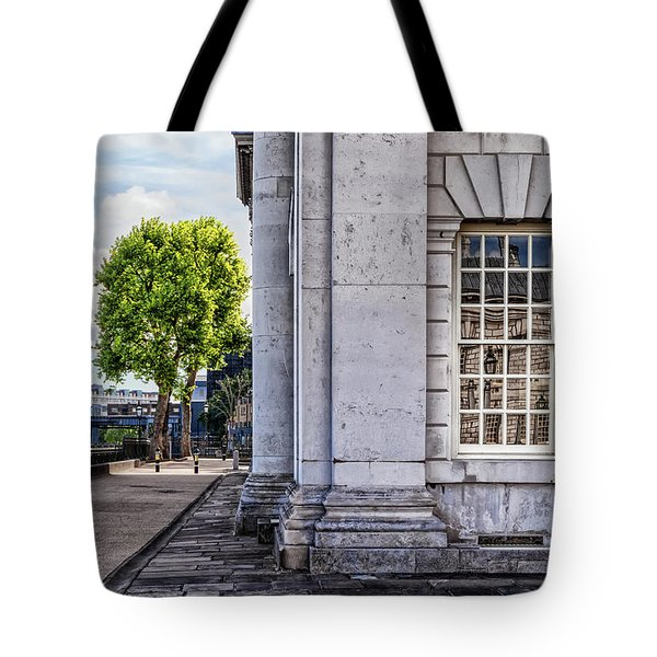 University Corner Tote Bag