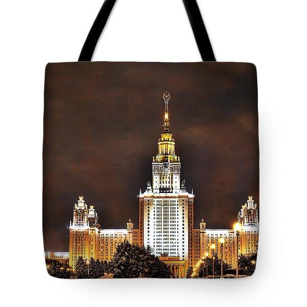 Lenin University Tote Bag