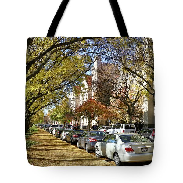 University Of Chicago Campus Tote Bag
