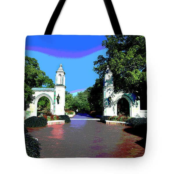 University Of Indiana Tote Bag