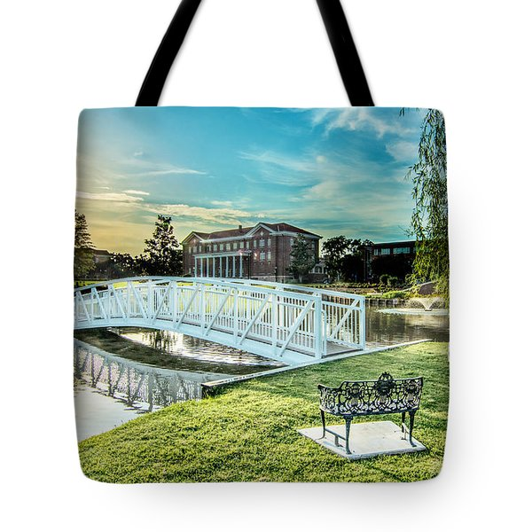 University Of Southern Mississippi Tote Bag