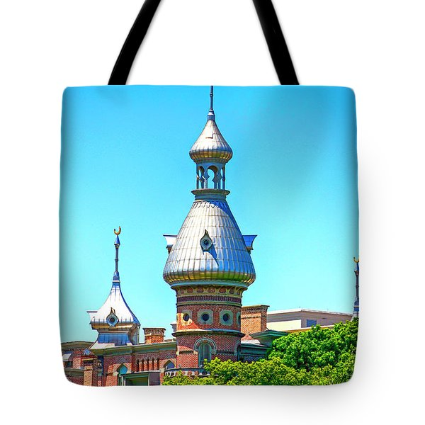 University Of Tampa Minaret Fl Tote Bag