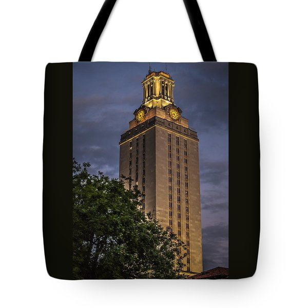 University Of Texas Tower Tote Bag