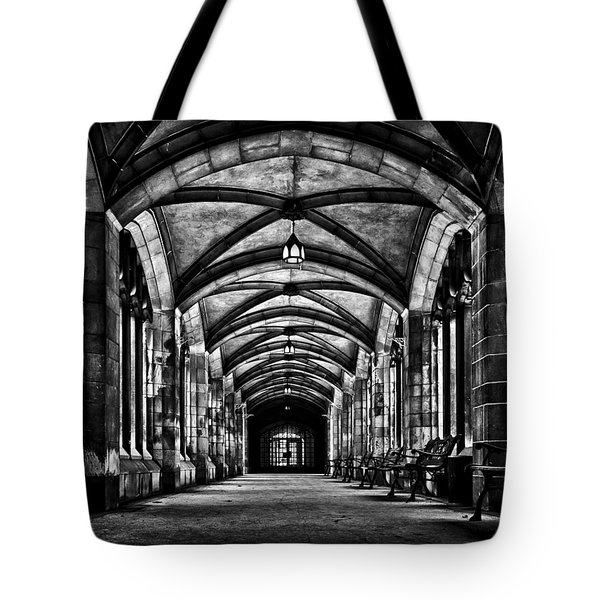 University Of Toronto Knox College Cloister No 1 Tote Bag by Brian Carson