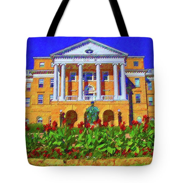 University Of Wisconsin  Tote Bag