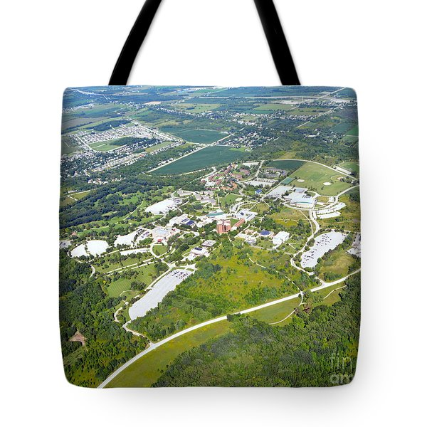 University Of Wisconsin Green Bay 2 Tote Bag by Bill Lang
