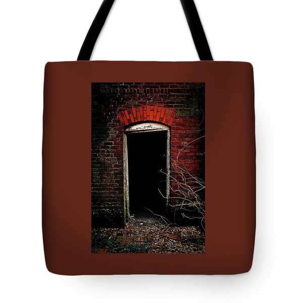 Tote Bag featuring the photograph Unknowing by Jessica Brawley