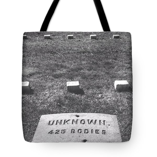 Unknown Bodies Tote Bag