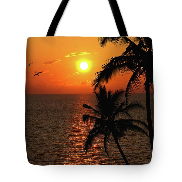 Unknown Paradise Tote Bag