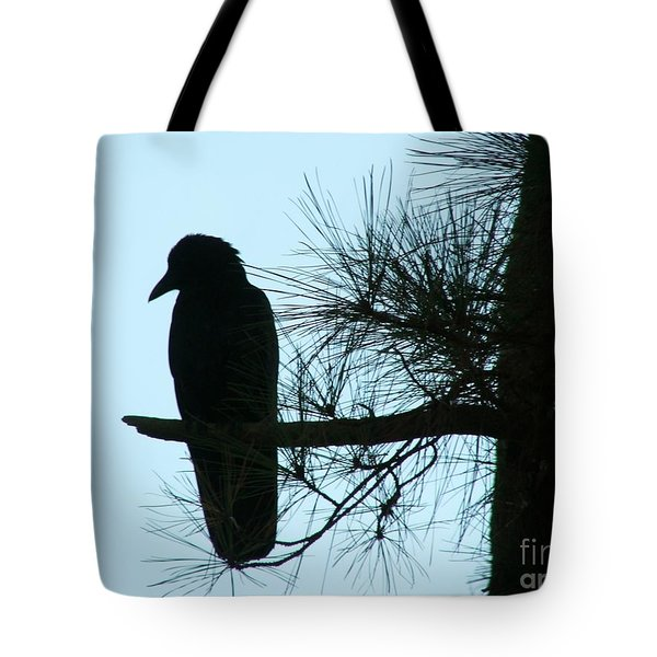Unknown Visitor Tote Bag