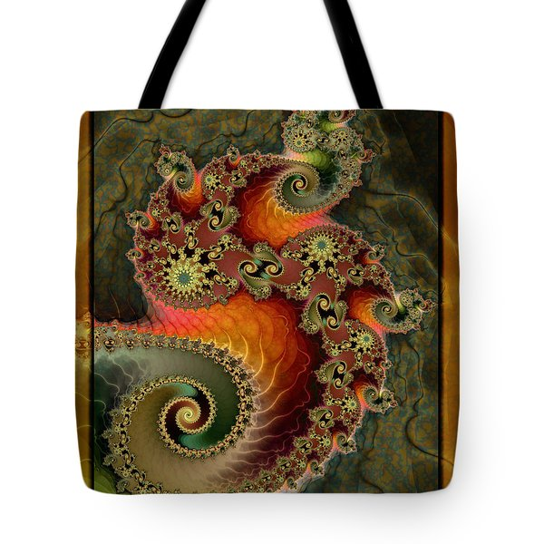 Unleashed Dragon Tote Bag by Kim Redd
