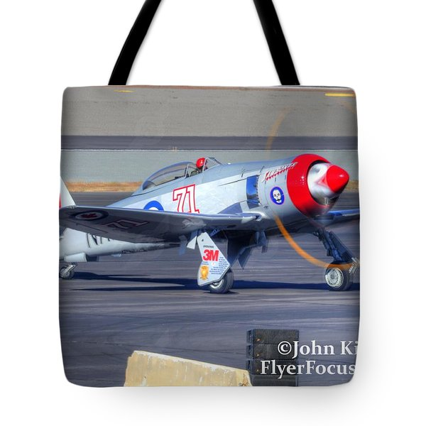 Tote Bag featuring the photograph Unlimited Gold Race. Sawbones Startup. by John King