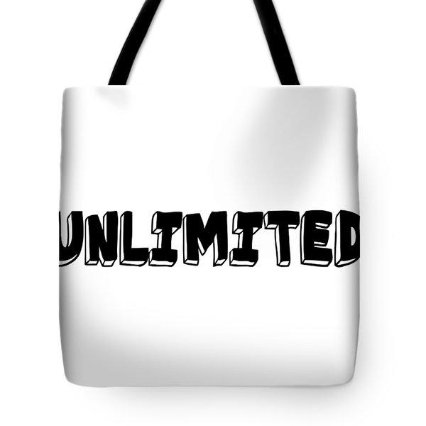 Unlimted Tote Bag