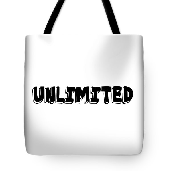 Tote Bag featuring the digital art Unlimted by Ai P Nilson