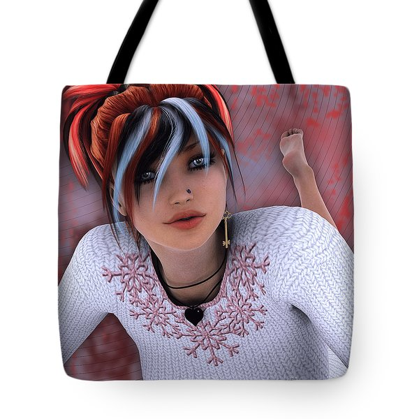 Unlock My Heart Tote Bag