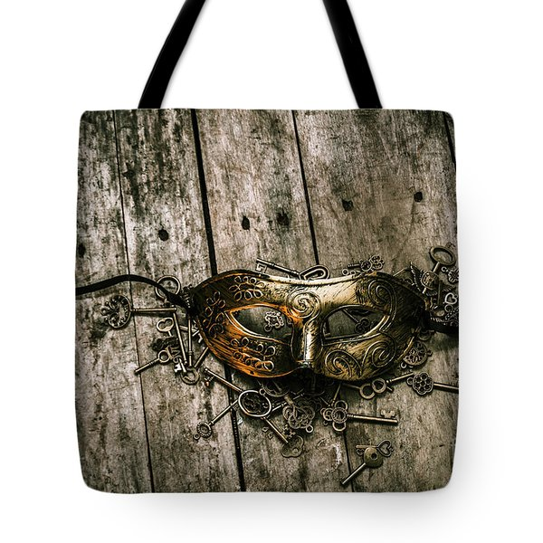 Unlocking A Golden Mystery Tote Bag