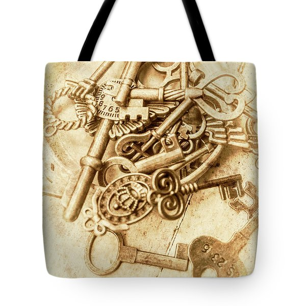 Unlocking The Past Tote Bag