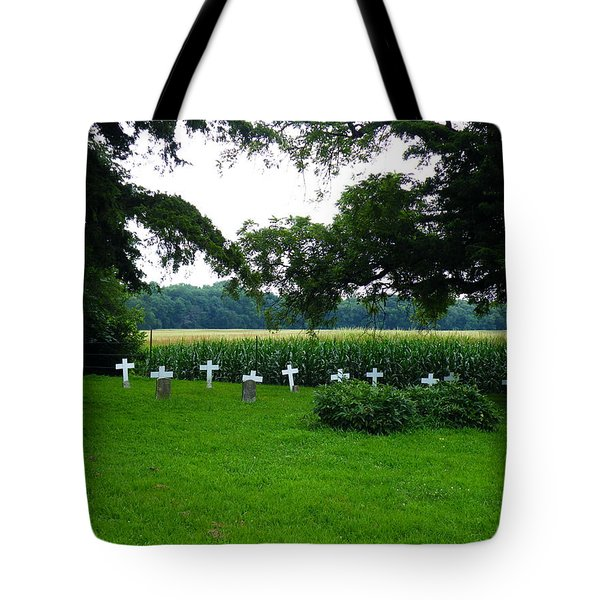 Unmarked Youth Center Graves #2 Tote Bag by The GYPSY