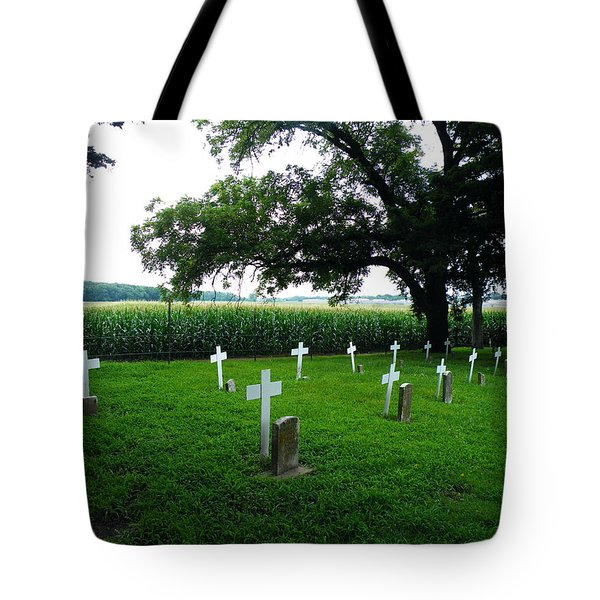 Unmarked Youth Center Graves #3 Tote Bag
