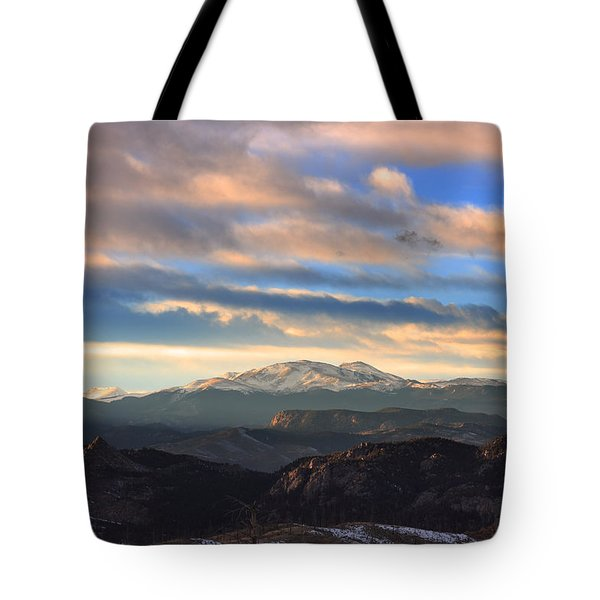 The Unmatched Beauty Of The Colorado Rockies Tote Bag