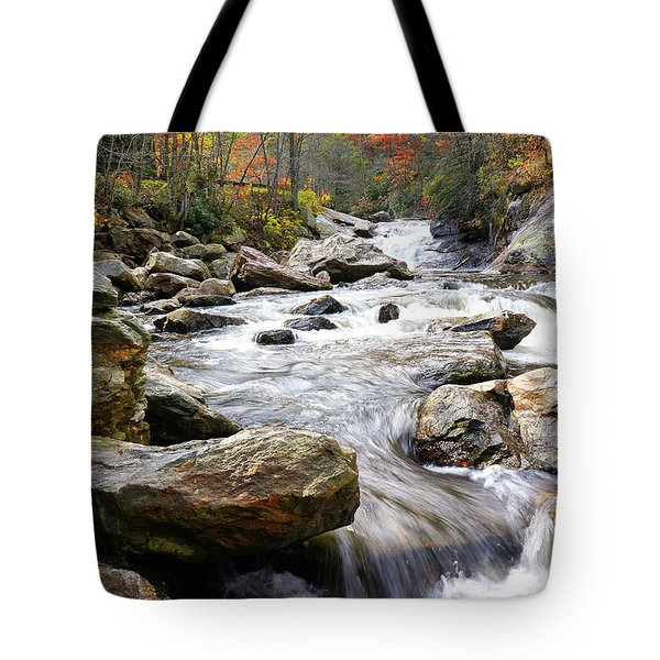 Unnamed Waterfall Tote Bag