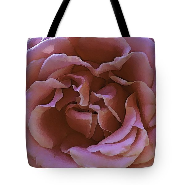 Tote Bag featuring the photograph Unpicked Rose by Paula Porterfield-Izzo