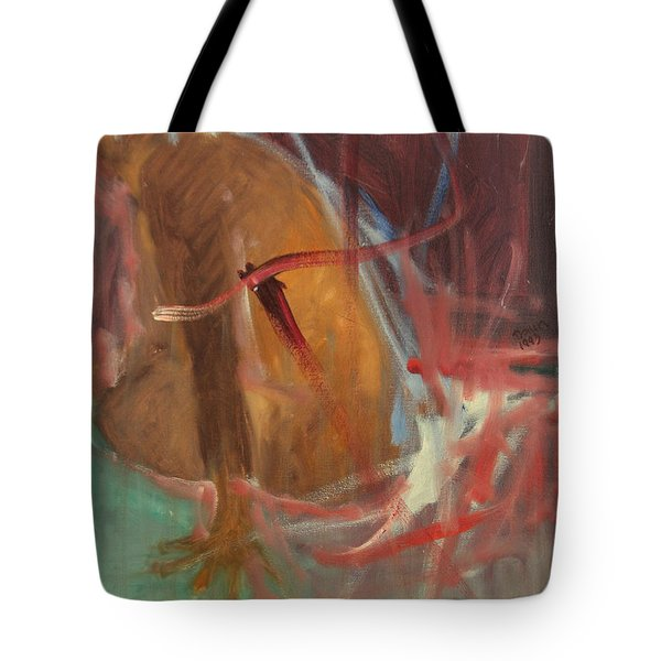 Unquiet Tote Bag by Daun Soden-Greene