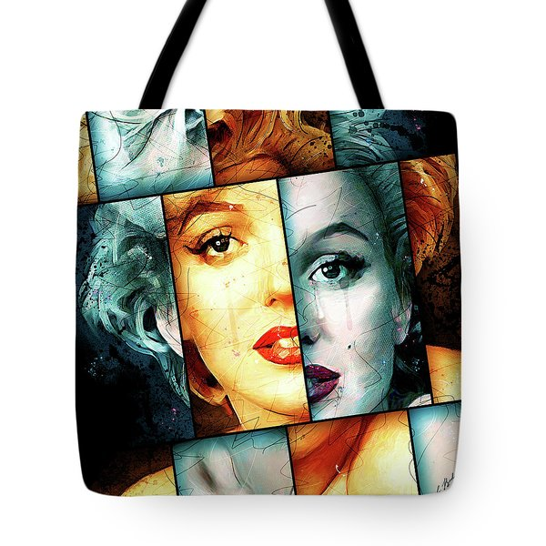 Monroe  Tote Bag by Gary Bodnar