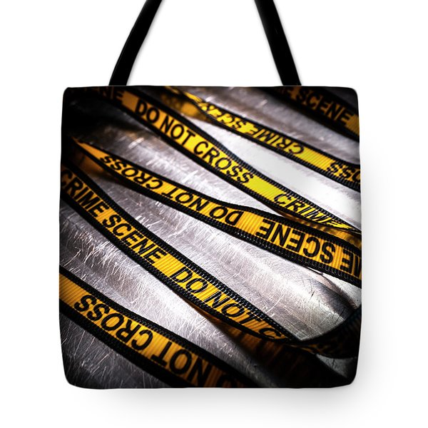 Unravelling Crime Investigation Tote Bag